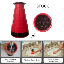 <b>New High Pressure Powerful</b> Manual Sink Plunger Cleaner Air ...