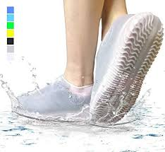 Made of <b>Heavy Duty Silicone</b> Small, white Waterproof Shoe <b>Cover</b> ...