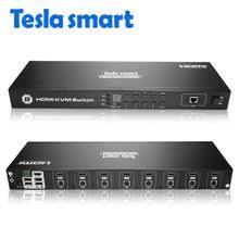 Online Shop <b>Tesla smart KVM</b> Switch <b>KVM USB</b> Switch 4 Port <b>kvm</b> ...