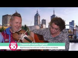<b>Nigel Kennedy</b> Is Not Your Usual Violinist | Studio 10 - YouTube