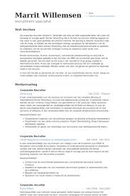 corporate recruiter resume samples visualcv resume samples database corporate recruiter resume samples nurse recruiter resume