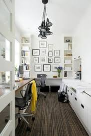 awesome use of a narrow space pretty sunny office awesome office narrow long