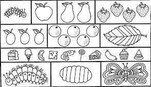 Small Picture Beautiful Looking Very Hungry Caterpillar Coloring Pages 15