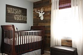 adorable sample rustic baby nursery dark brown color wooden component furniture room simple ideas adorable nursery furniture