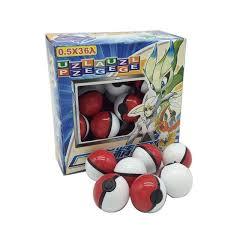 <b>Hot sale 36Pcs</b> Lot ABS classic Action Anime Figures Poke balls