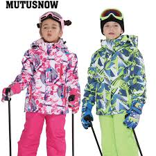 Detail Feedback Questions about MUTUSNOW <b>2019 Girl Ski Suit</b> ...