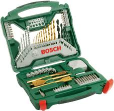 <b>BOSCH 2607019329 70</b>-piece <b>X</b>-<b>Line</b> Titanium set - Mixed ...