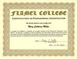 nursehealer com certifications ~mary catherine miller paranormal investigator