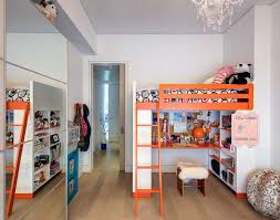 inspired loft bed with desk underneath in kids contemporary with bunk beds with desk next to loft beds desks alongside bed desk combo and loft open floor bedroom loft bed desk combo