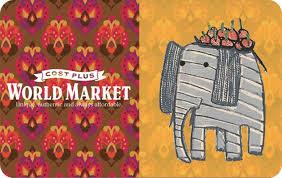 Cost Plus World Market eGift | Gift Card Gallery
