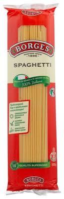 <b>Borges Макароны Spaghetti</b>, 500 г — купить по выгодной цене на ...