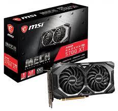 <b>Видеокарта MSI Radeon RX</b> 5700 XT 1670MHz PCI-E 4.0 8192MB ...