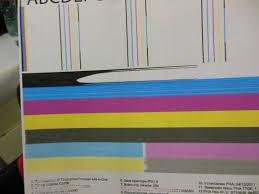 Принтер печатает полосами, причины и как исправить.