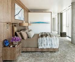 beautiful bedroom with faux and animal print chic zebra print rug