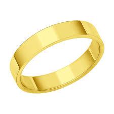 Обручальное <b>кольцо</b> из <b>желтого</b> золота арт. 110220 от <b>SOKOLOV</b>