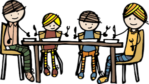 Image result for family drawing at table