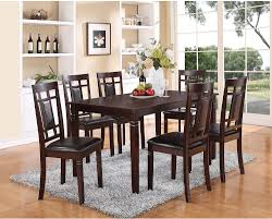 The Brick Dining Room Furniture Aran 7 Piece Casual Dining Package The Brick