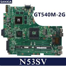 <b>KEFU</b> N53SV <b>Laptop motherboard</b> for ASUS N53SV N53SN N53SM ...