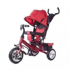 <b>Велосипед</b> коляска <b>Moby</b> Kids <b>3</b>-<b>х колесный</b>, Спутник, красный ...