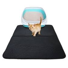 Shop Washable EVA <b>Cat</b> Litter Mat Black <b>Foldable Waterproof</b> ...