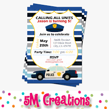 police party invitations cop party invite police birthday police party invitations cop party invite police birthday party printable invite boy party