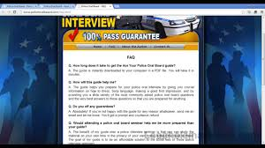 police oral board tell me about yourself % pass guaranteed police oral board tell me about yourself 100% pass guaranteed