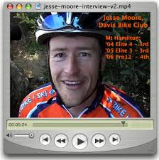 Click the pic to watch. Interview with Mt Hamilton Mr. Consistent: Davis Bike Club's, Jesse Moore