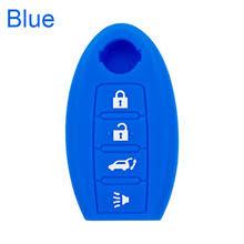 Силиконовый <b>чехол для ключа</b> автомобиля Nissan Altima Sentra ...