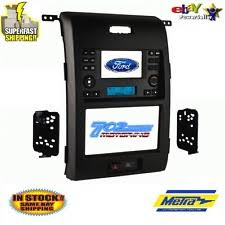 ford f 150 dash parts ford f 150 2013 double single din car stereo installation dash kit bezel facia fits ford f 150