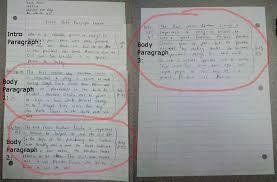 paragraph essay step  body paragraphs body paragraph exemplar