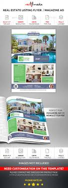 17 best images about psd print templates real estate listing flyer magazine ad