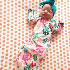 newborn pixel rose layette gown a perfect bringing home baby outfit coming home outfit baby girl