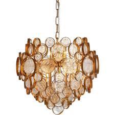Купить <b>светильник</b> подвесной <b>crystal lux deseo</b> sp6 d460 gold ...