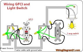 gfci outlet wiring diagram house electrical wiring diagram gfci outlet electrical wiring diagram light 2 way switch