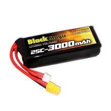 100% original <b>Black Magic</b> Upgrade <b>11.1V</b> 25C-3000mAh LiPo ...