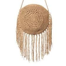 <b>Bamboo Bag</b> Women's Round Wicker <b>Bag</b> Fashion Hollow Out ...