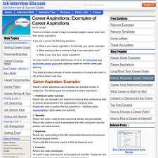 Getting Hired In Houston | Pearltrees Career Aspirations: Examples of Career Aspirations