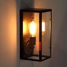 retro bedside cafe restaurant balcony stairs lamp wall lamp european pandora box wall lampvintage cheap wall sconce lighting