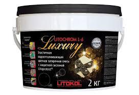 Затирочная смесь <b>LITOKOL</b> LITOCHROM <b>LUXURY</b> 1-6 (<b>ЛИТОКОЛ</b> ...