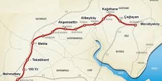 Image result for mecidiyeköy haritası