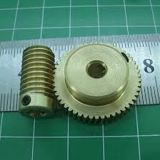 0.5M - 30Teeths worm gear+Rod high <b>speed</b> reduction ratio 1 ...
