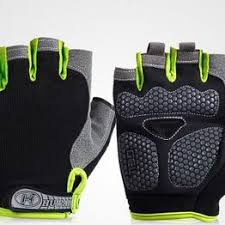 1Pair Half Finger Cycling Gloves Anti-Slip Gel Bicycle Riding ... - Vova