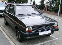 <b>Ford Fiesta</b> (first <b>generation</b>) - Wikipedia