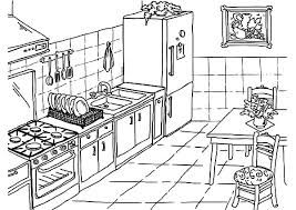 Small Picture Drawing Kitchen Coloring Pages Download Print Online Coloring