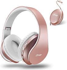zihnic <b>Bluetooth</b> Over-Ear Headphones, Foldable Wireless and ...