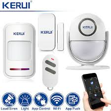 <b>KERUI WP6</b> 120DB Wifi Home Security Alarm System Loud Siren ...