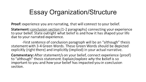 summer notes have your types notes and tii receipt out on 6 essay organization structure proof experience
