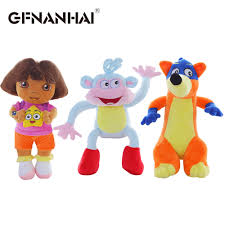 <b>3pcs/lot hot sale</b> 25cm Genuine love adventure of Dora monkey ...