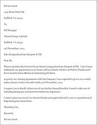 resignation letter template  free resignation letter templatehr resignation letter template  download available in word