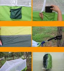 2019 260*140cm <b>Portable Hammock</b> With Mosquito Net <b>Single</b> ...